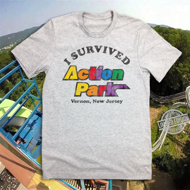 I Survived Action Park Vernon New Jersey Shirt