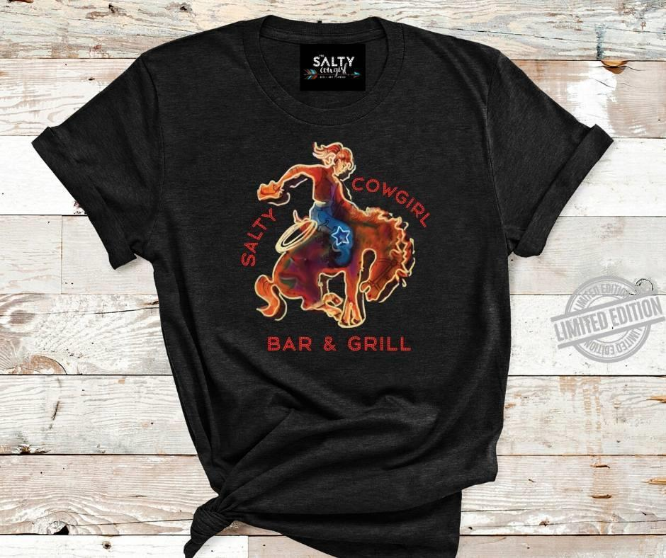 Salty Cowgirl Bar & Grill Shirt