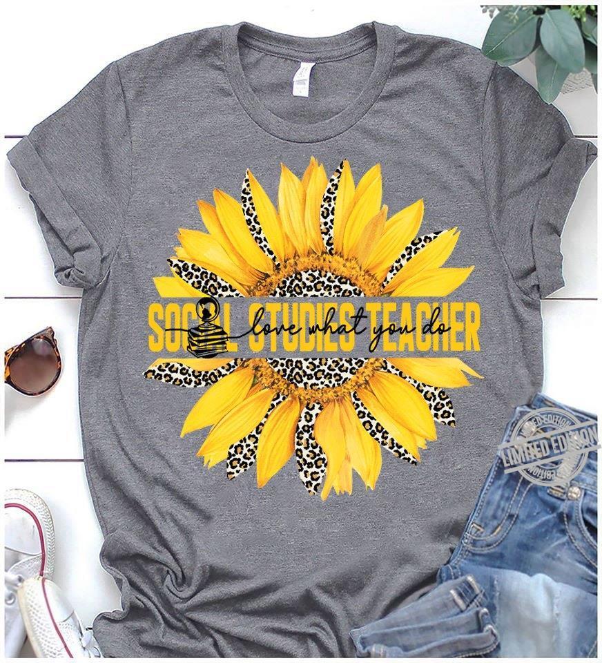Socail Studies Teacher Shirt